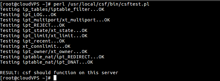 perl test
